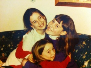 3 silly sisters who grew up to be lovely, independent women. We are proud of who they are.