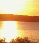 sunrise Longview Lake